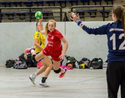 19.11.2017 TuS Ferndorf Damen gegen HSG Lüdenscheid