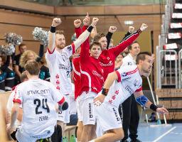 19.10.2018 TuS Ferndorf 1. Mannschaft gegen HC Rhein Vikings