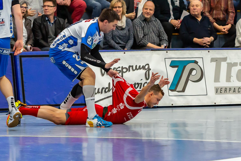 Miroslav Volentics! Im Angriff gestoppt!
