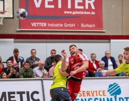 21.09.2019 TuS Ferndorf 1. Mannschaft gegen DJK Rimpar Wölfe
