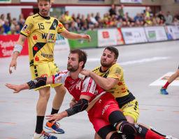 05.10.2019 TuS Ferndorf 1. Mannschaft Herren gegen HSG Krefeld