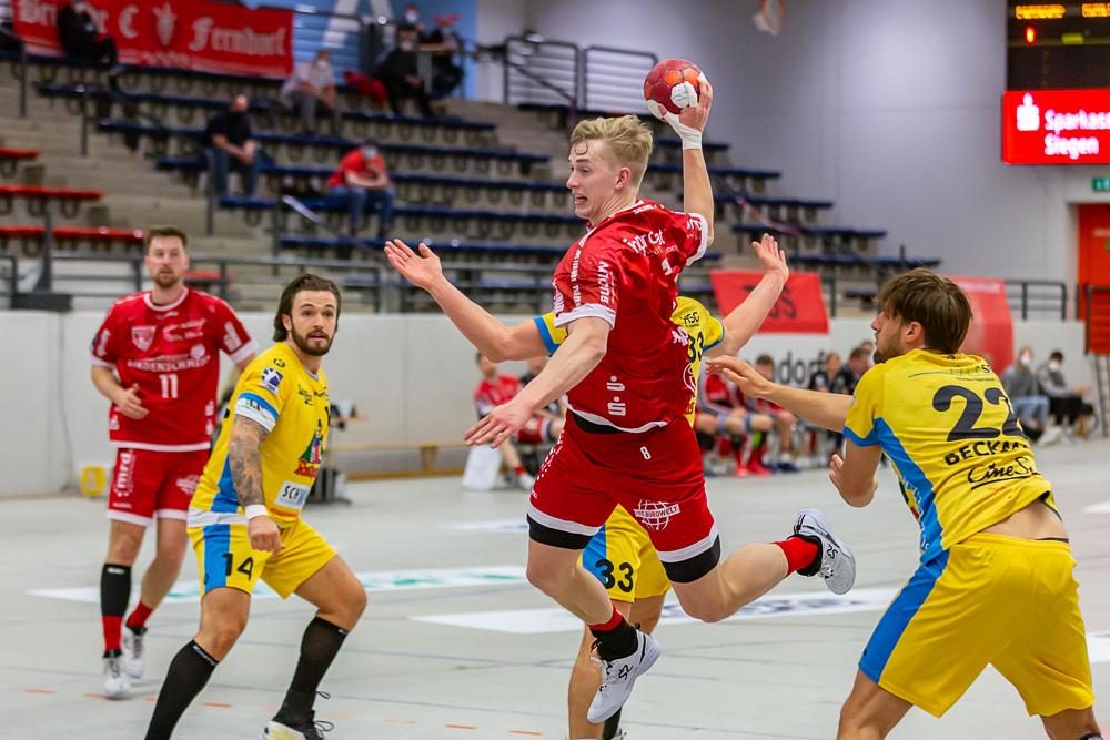 17.04.2021 Handball 1. Mannschaft TuS Ferndorf gegen HSG ...